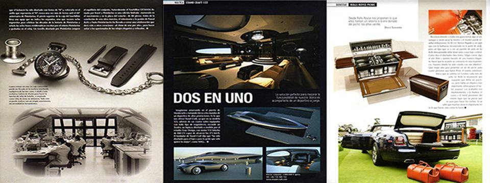 <blockquote><h3>Diseño y maquetación</h3>Diseño  de la revista, maquetación de la misma, fotomecánica y artes finales</blockquote>